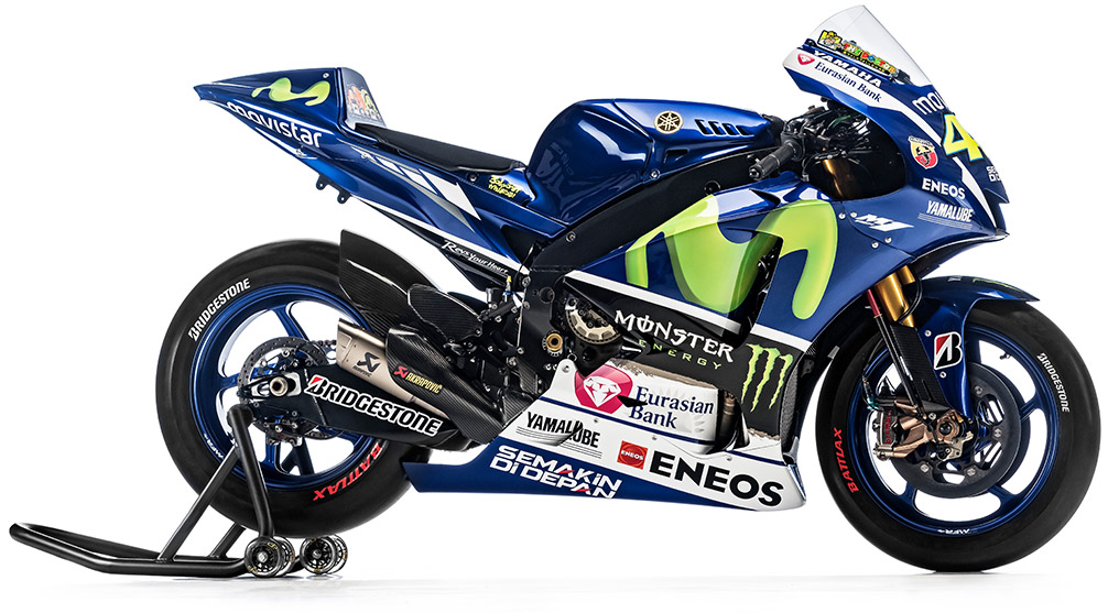 Detail Photo Dan Spesifikasi New Yzr M1 Yamaha Movistar Livery