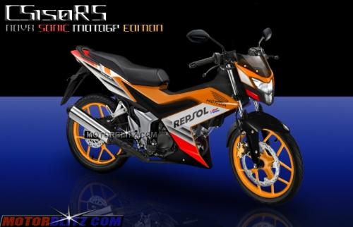 Honda sonic 150 honda k56 cs150rs repsol moto gp