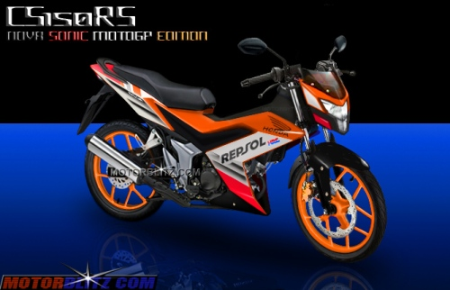 Honda sonic 150 honda k56 cs150rs repsol motogp