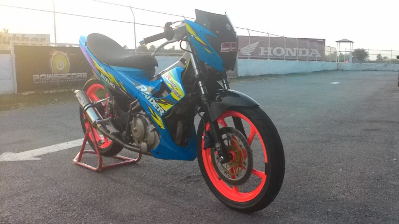 Koleksi Modifikasi Satria Fu 150 Road Race Terbaru