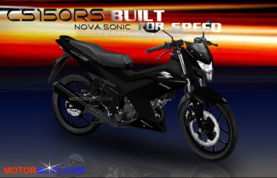 sonic 150 honda k56 black devil