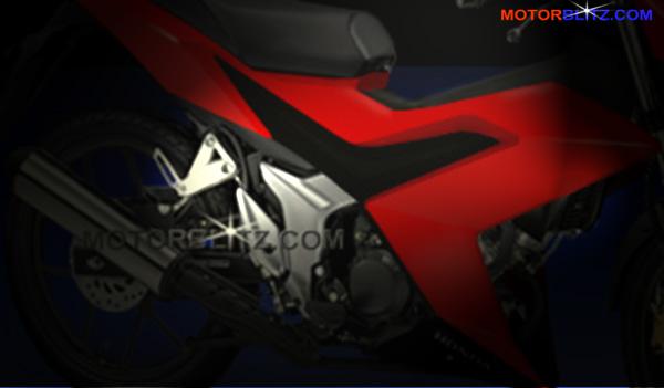 sonic 150 honda k56 teaser