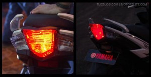 Soul GT 125 lampu rem