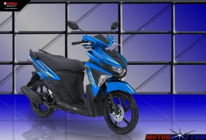 Soul GT warna biru muda