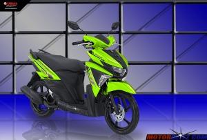 Soul GT warna hijau 2