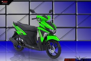 Soul GT warna hijau tua2