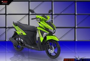 Soul GT warna hijau