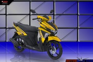 Soul GT warna kuning muda
