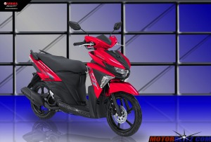 Soul GT warna merah bright red