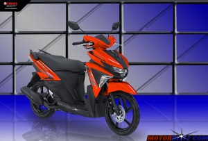 Soul GT warna orange 3