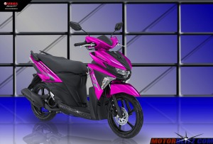 Soul GT warna pink muda bgt