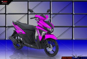Soul GT warna pink muda