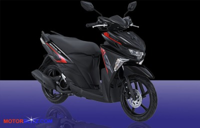 warna All New Soul GT hitam