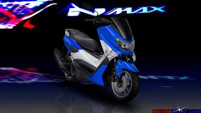 warna yamaha nmax biru muda 2