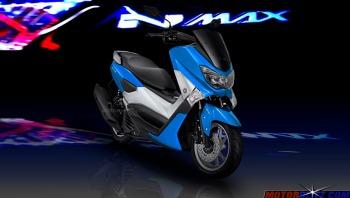 warna yamaha nmax biru muda