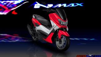 warna yamaha nmax bright red