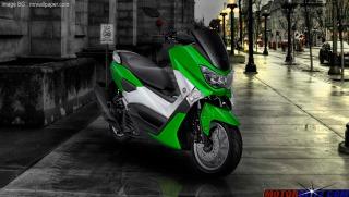 warna yamaha nmax green 2