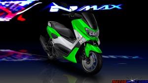 warna yamaha nmax hijau 2