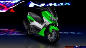 warna yamaha nmax hijau 3