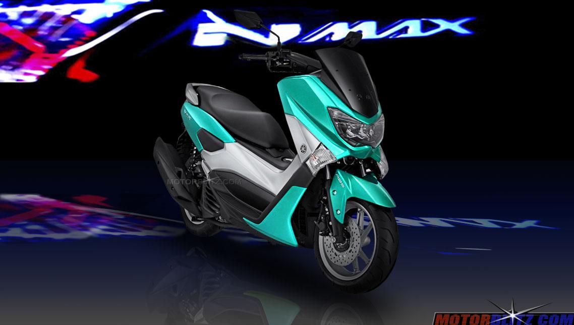 Yamaha Nmax Memang Keren Gimana Kalau Ganti Warna Biru Ungu