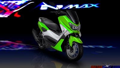 warna yamaha nmax hijau muda green metal