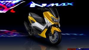 warna yamaha nmax kuning 2