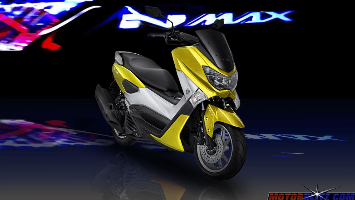 Yamaha Nmax Memang Keren Gimana Kalau Ganti Warna Biru Ungu Hijau