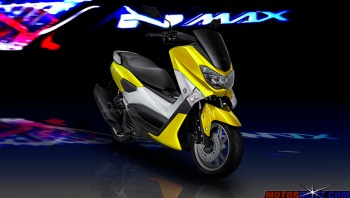 warna yamaha nmax kuning yellow