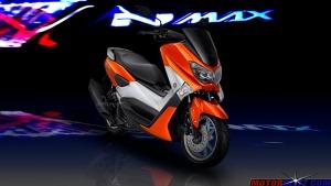 warna yamaha nmax orange 3