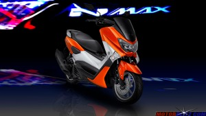 warna yamaha nmax orange 3