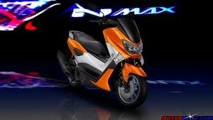 warna yamaha nmax orange 4