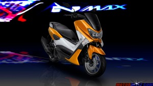 warna yamaha nmax orange 5