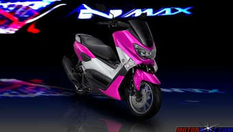 warna yamaha nmax pink 3