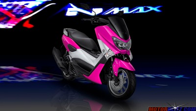 warna yamaha nmax pink 4