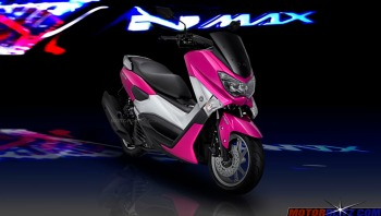 warna yamaha nmax pink 5