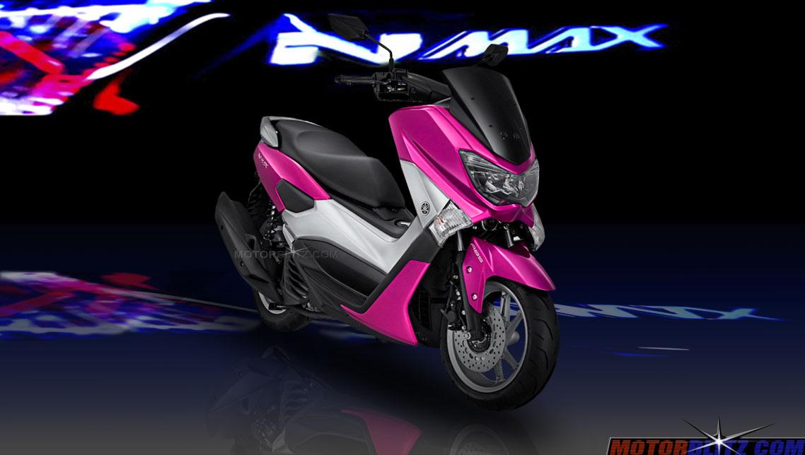 warna yamaha nmax pink  motorblitz