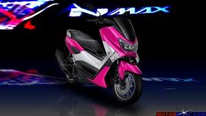warna yamaha nmax pink 6