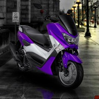 Yamaha NMAX memang keren, gimana kalau ganti warna biru, ungu, hijau, kuning, magenta, orange?
