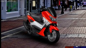 warna yamaha nmax red
