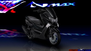 warna yamaha nmax total black