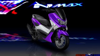 warna yamaha nmax ungu 2