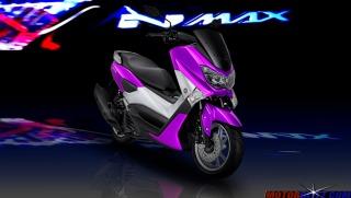 warna yamaha nmax ungu 4
