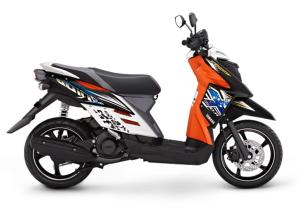 warna yamaha xride putih orange