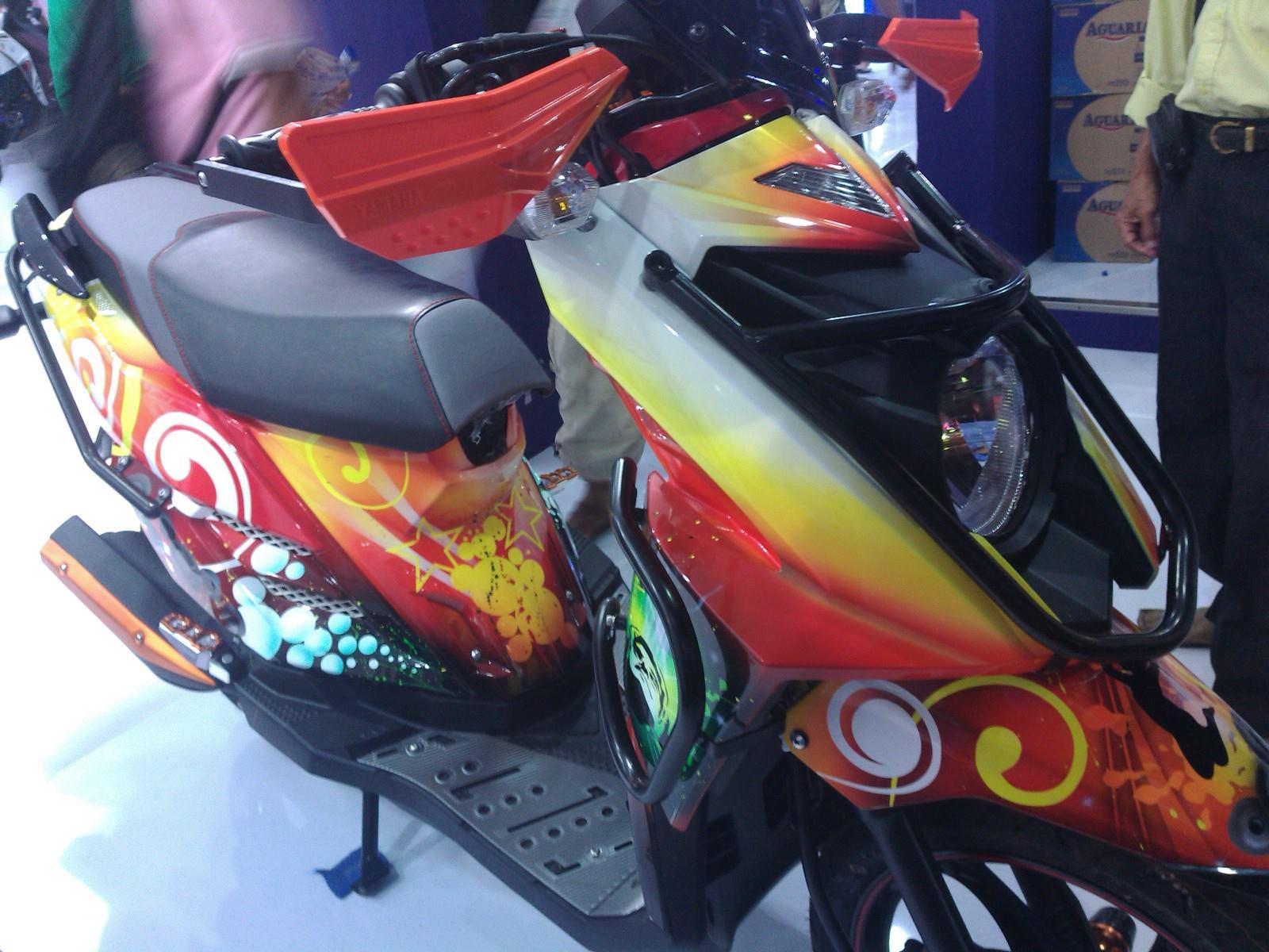 Ide 81 Modifikasi Motor Matic Yamaha X Ride Terupdate Dinding Motor