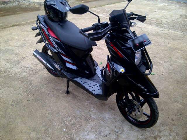 Modifikasi Keren Yamaha X Ride Ala Yfs Motorblitz