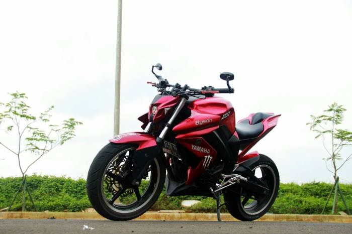 Bore-up Yamaha Byson 200cc tembus 22 DK
