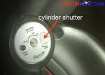cylinder shutter