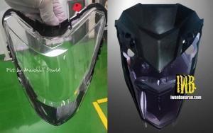 headlamp Honda K56 dan K15G