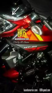 headlamp lampu depan yamaha mt25