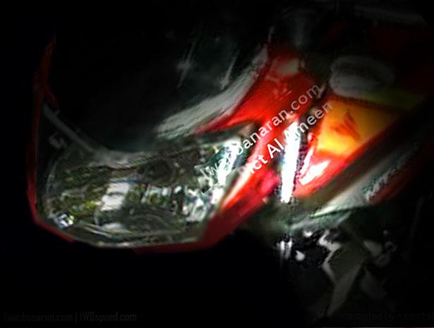 headlamp yamaha mt25 teaser